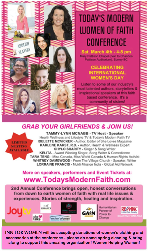 Modern Women of Faith Conference